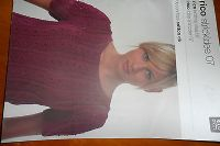 RICO KNITTING IDEAS 7 - knitting pattern book for essential cotton dk - 7 design
